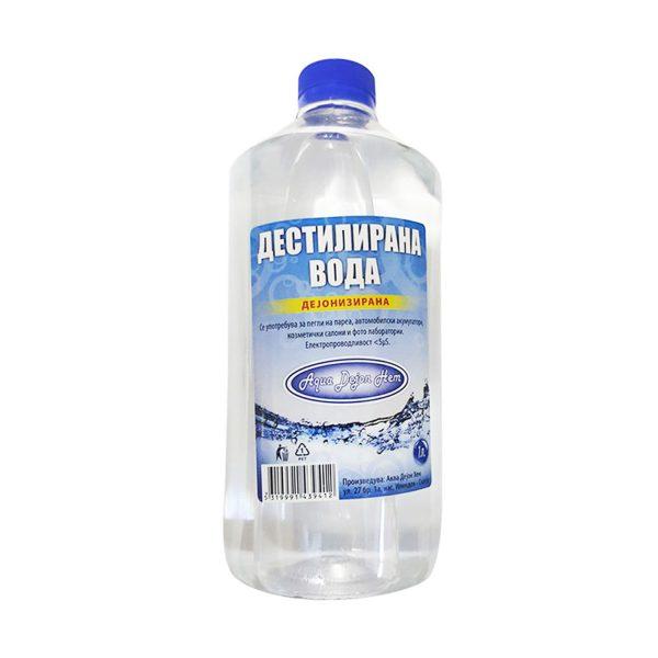 Дестилирана вода