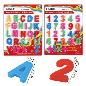 Магнети бројки и букви