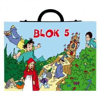 Најлон кеса за блок бр.5
