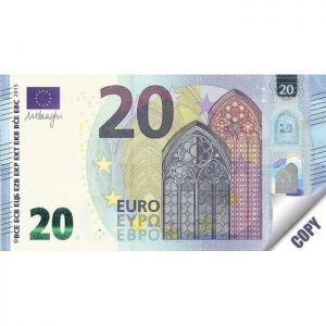 Тефтер 20 евра